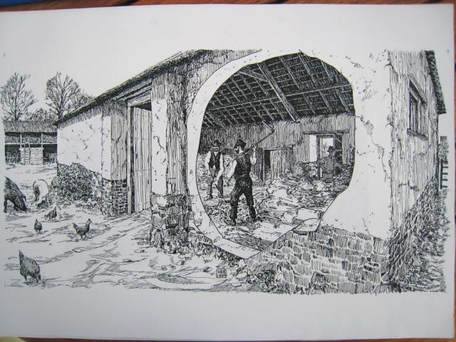 Devon Building 4.2 Human-driven threshing barn