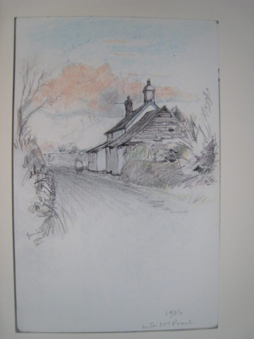 Eworthy: Greenfield Cottage, drawing 1986