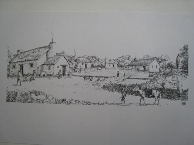 A drawing of Hennard Mill develops: final draft
