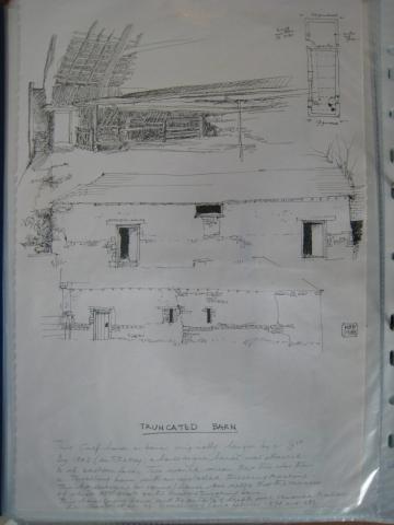 Homeliving: Truncated Barn, drawings