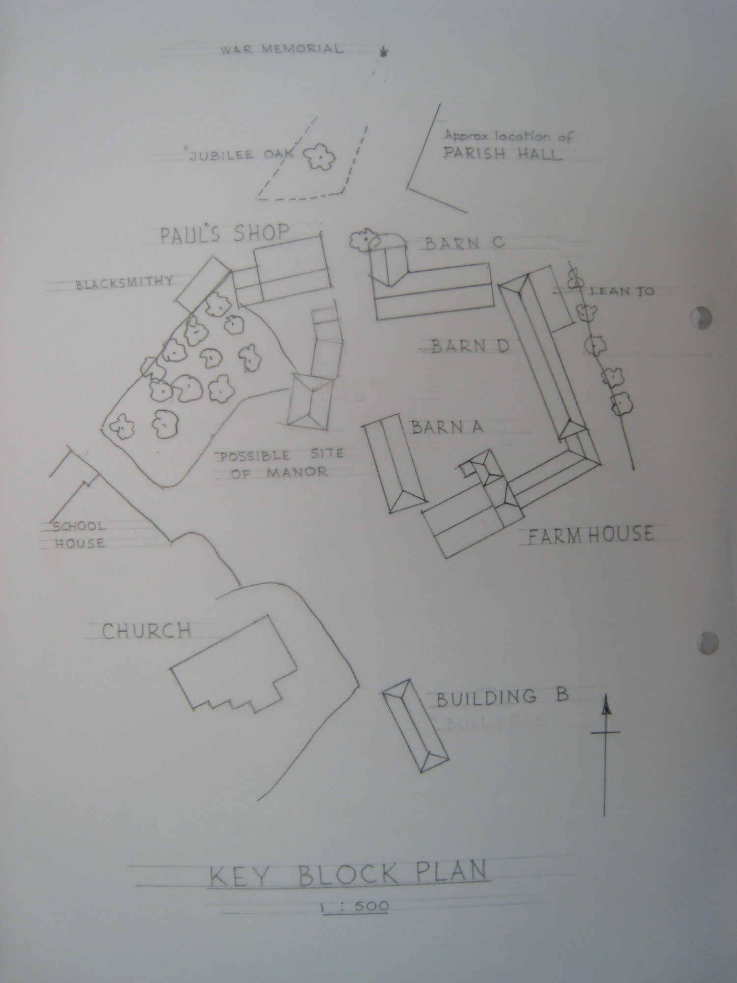 Homeliving and Paul's Shop, plan