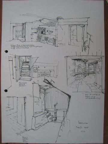 Paul's Shop, interior details