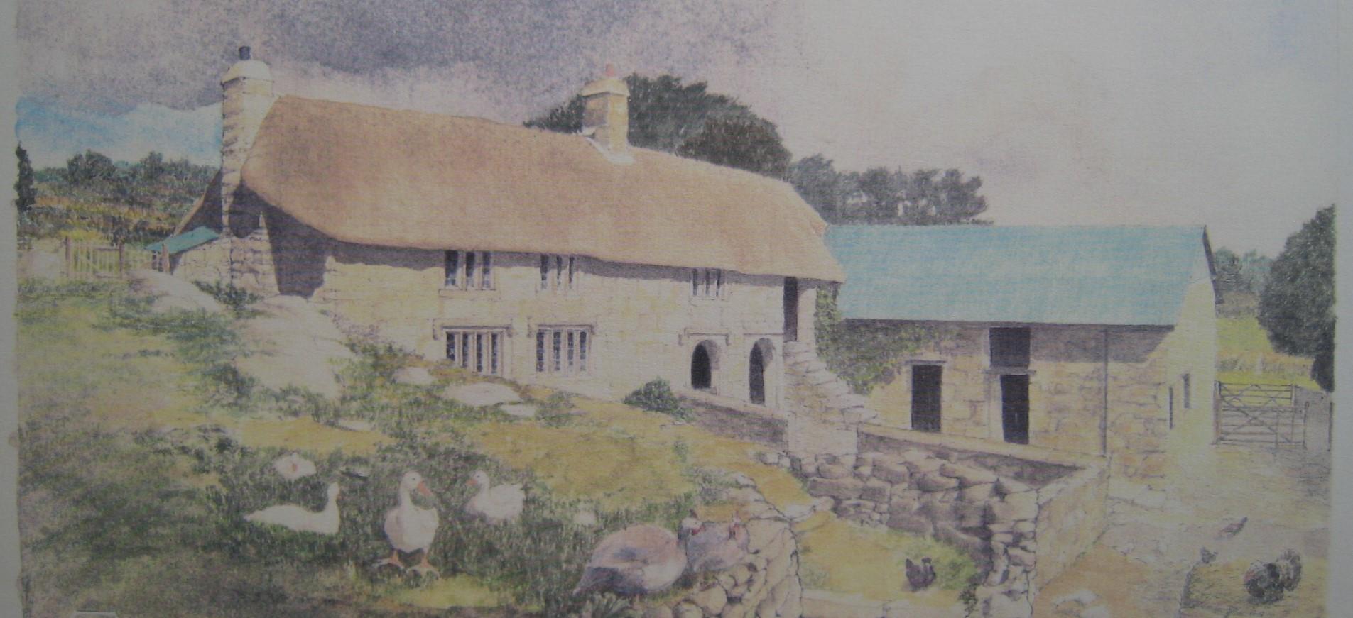 Dartmoor Longhouse Higher Shilstone Throwleigh