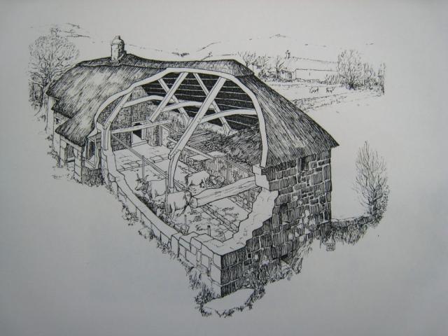 Dartmoor Longhouse Sanders Lettaford