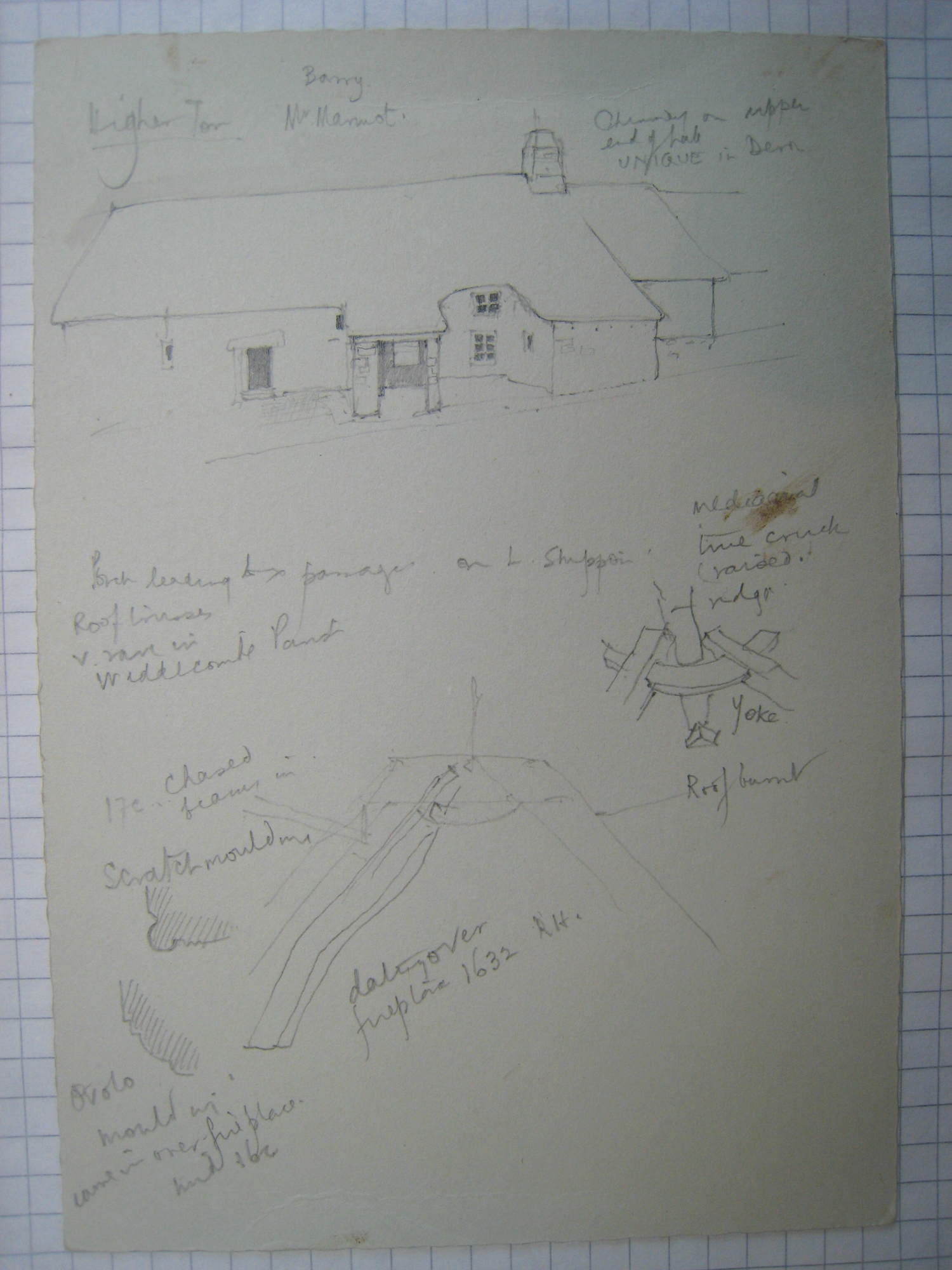 Dartmoor Longhouse Higher Tor Poundsgate