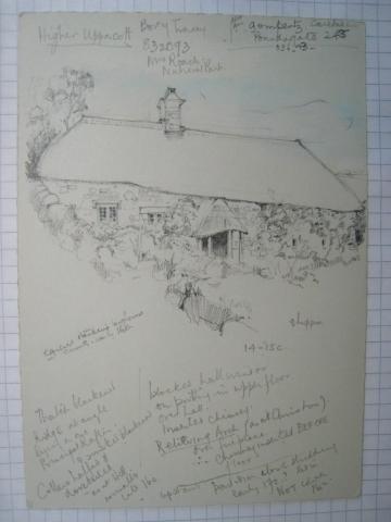 Dartmoor Longhouse Higher Uppacott Poundsgate