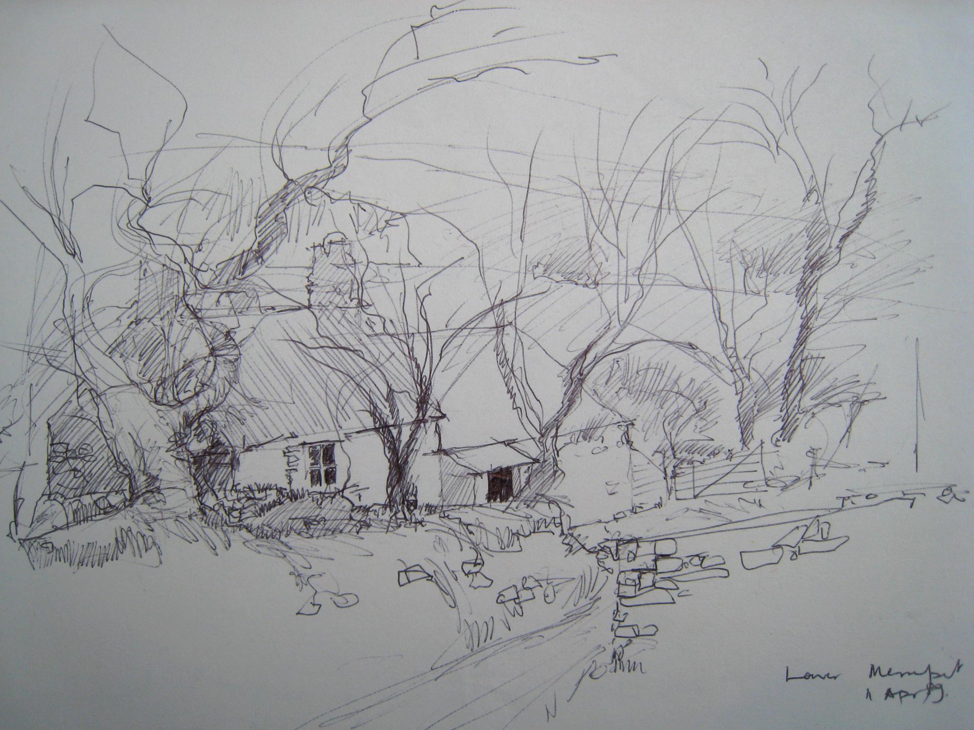 Dartmoor Longhouse Lower Merripit Postbridge