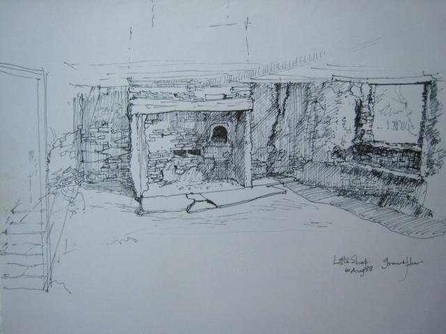 Little Shop: ground floor room A figure 1