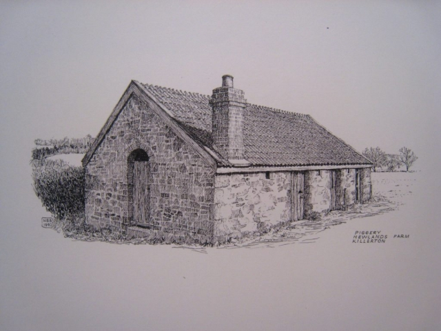 NT Piggery, Newlands Farm, Killerton Estate