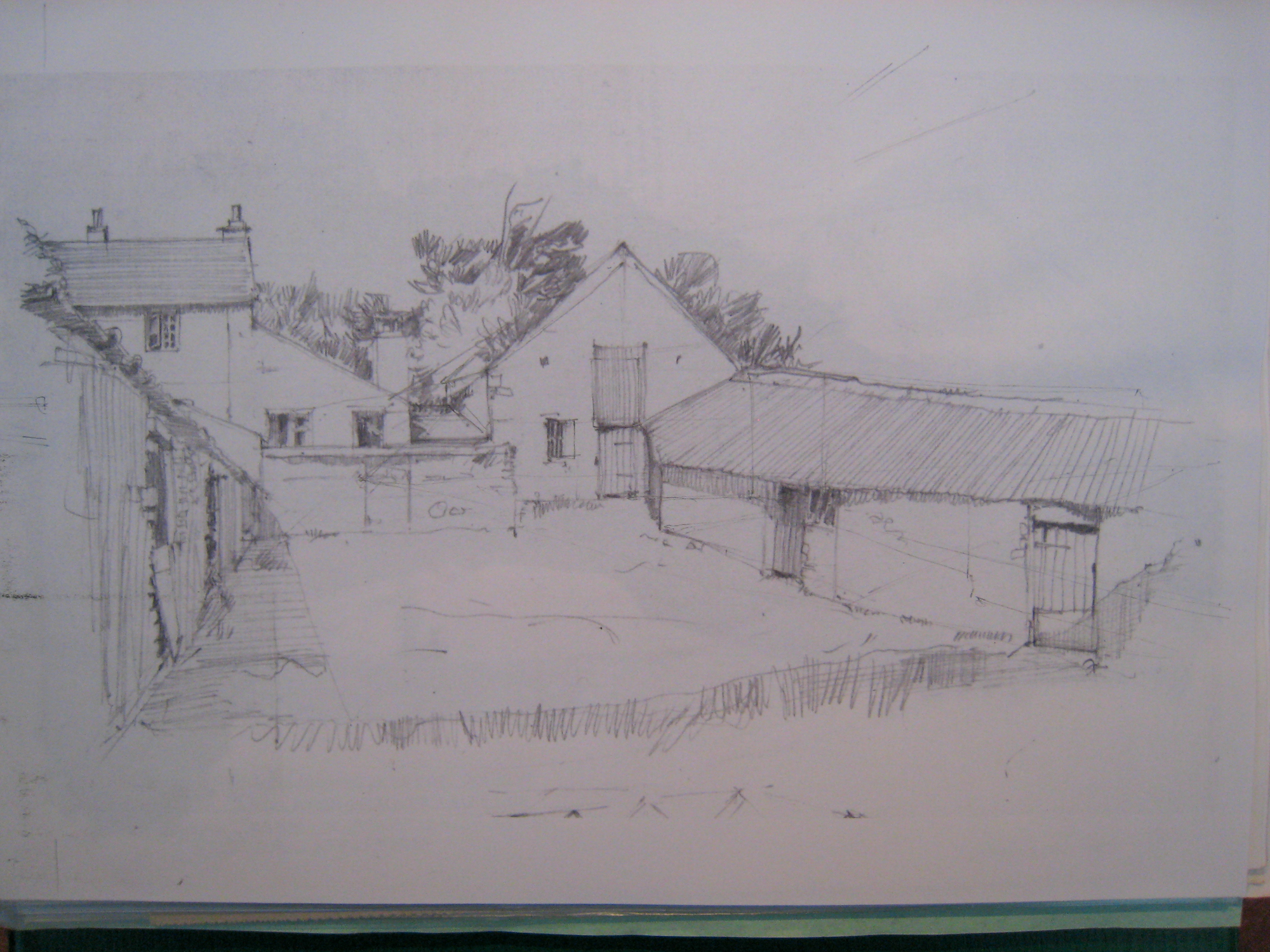 West Challacombe, Combe Martin, National Trust: farmyard