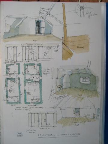 OB 06 Honeyford nr Drew Steignton