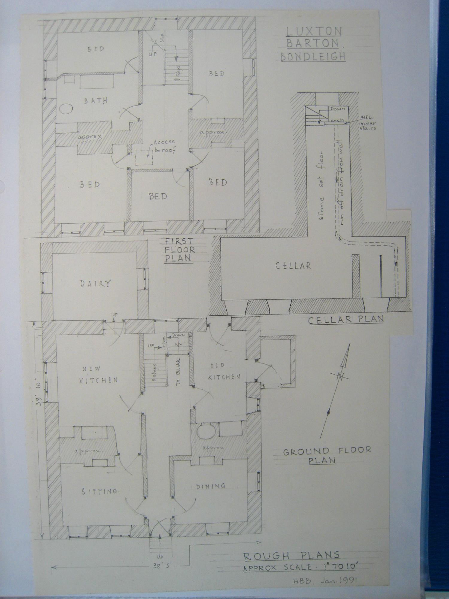 OB 30 Luxton Barton Bondleigh floor plan