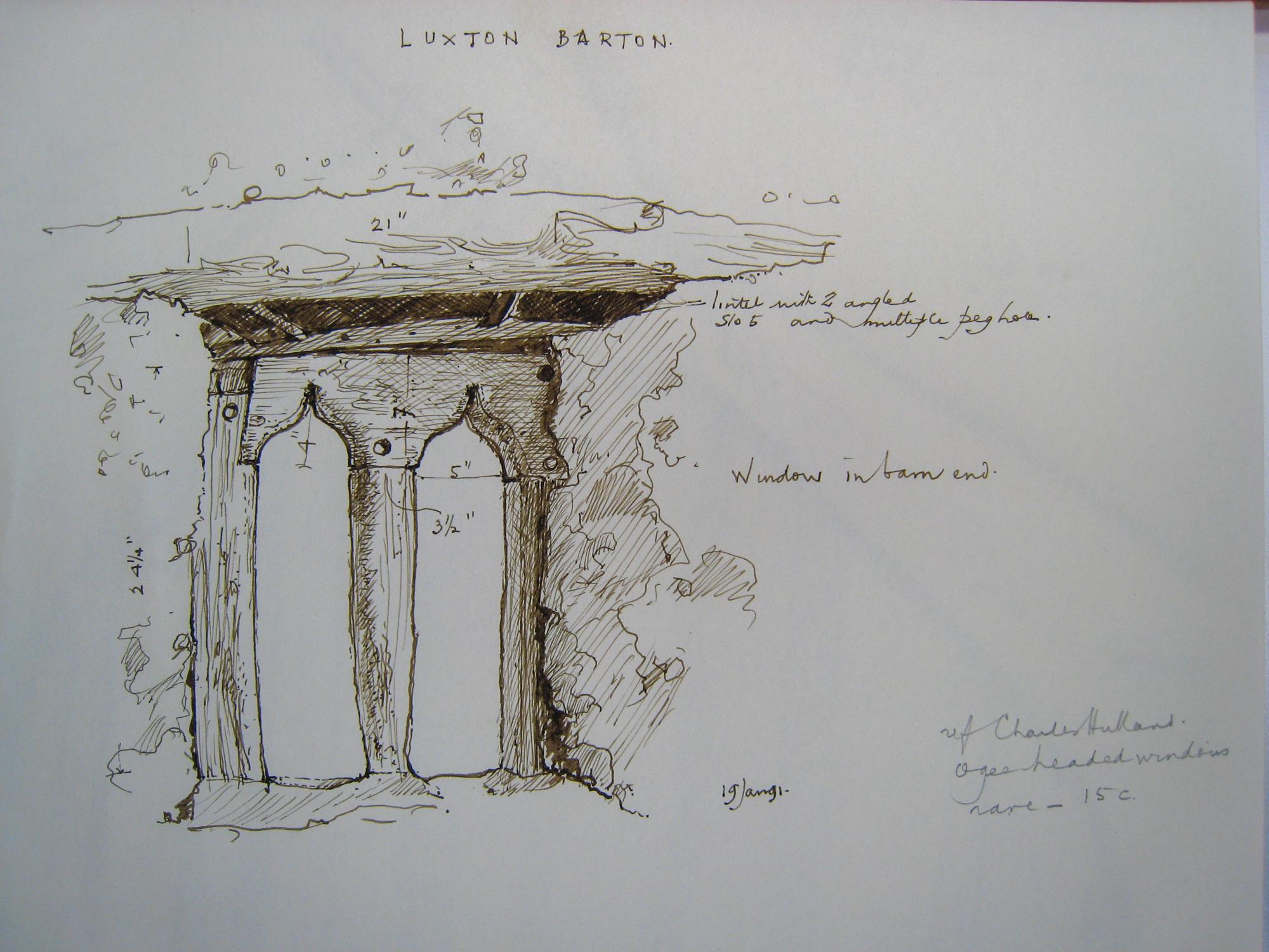 OB 30 Luxton Barton Bondleigh