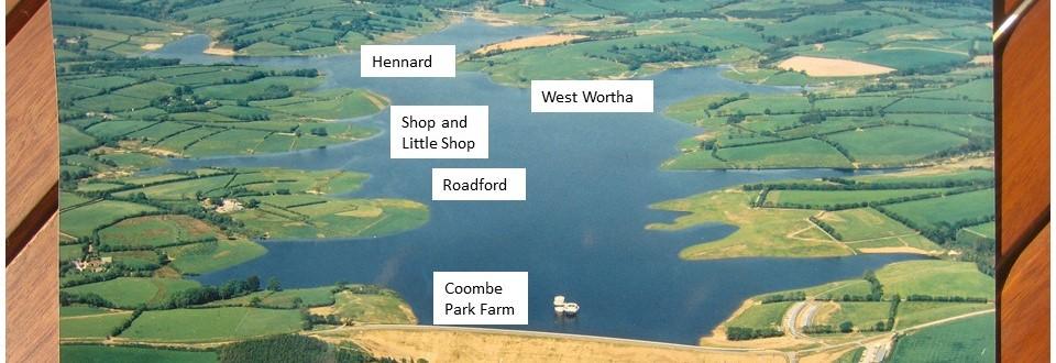 what's under Roadford Lake? - detail