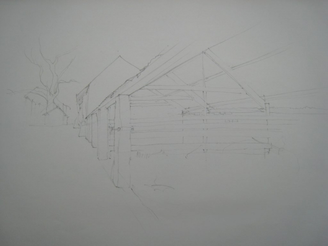 Shop: agricultural buildings sketch